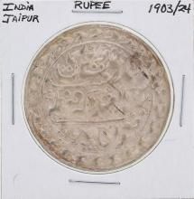 1903/24 India Jaipur Rupee Coin