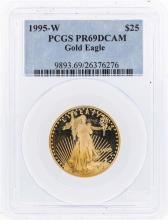 1995-W $25 American Gold Eagle Coin PCGS PR69DCAM