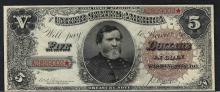 1890 $5 Treasury Note Fr.359