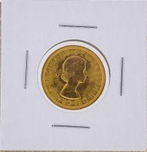 1963 Great Britain Sovereign Gold Coin