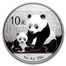 2012 10 Yuan China Silver Panda Coin