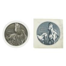 2014 $5 Tokelau Antique Finish Solver Coin
