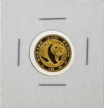 1983 1/10 oz China Gold Panda Coin