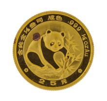 1988  1/4 oz China Panda Gold Coin