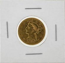 1856-S $5 No Motto Liberty Head Half Eagle Gold Coin