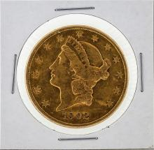 1902-S $20 Liberty Head Double Eagle Gold Coin