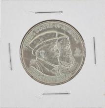 1924 Huguenot-Walloon Tercentary Commemorative Half Dollar Coin