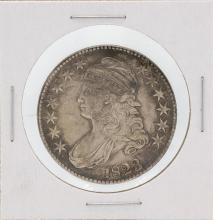 1823 Capped Bust Half Dollar Silver Coin