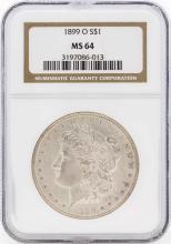 1899-O $1 Morgan Silver Dollar Coin NGC MS64