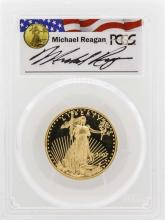 2007-W $25 American Gold Eagle Proof Coin PCGS PR69DCAM Reagan Legacy Series