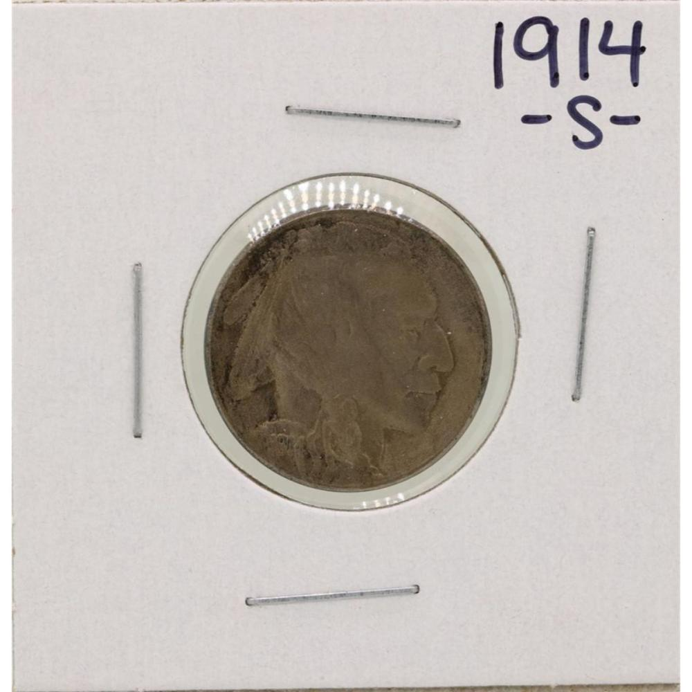 1914-S Buffalo Nickel Coin