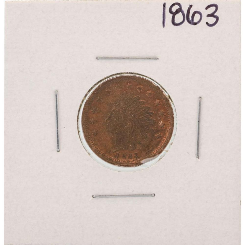 1863 Civil War R.W. Dry Goods Token
