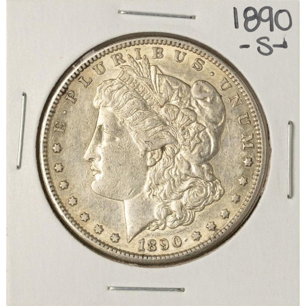 1890-S $1 Morgan Silver Dollar Coin