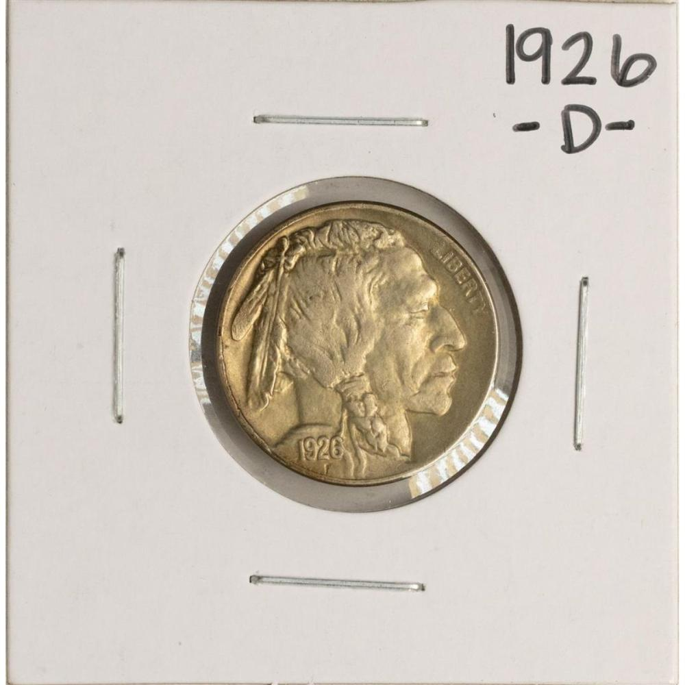 1926-D Buffalo Nickel Coin