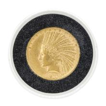 1911-S $10 Indian Head Eagle Gold Coin