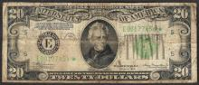 1934 $20 Federal Reserve STAR Note