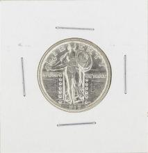1917 Standing Liberty Quarter Silver Coin