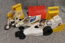 Evel Knievel toy lot