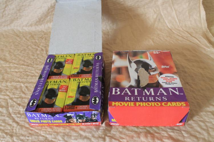 Batman Returns movie cards