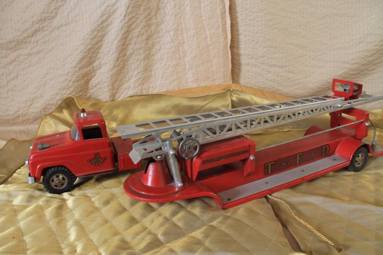 Vintage toy firetruck
