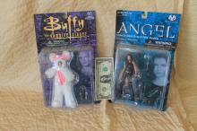 Buffy the Vampire Slayer and Angel dolls
