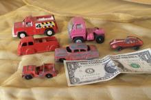 Marx and Tootsietoy cars