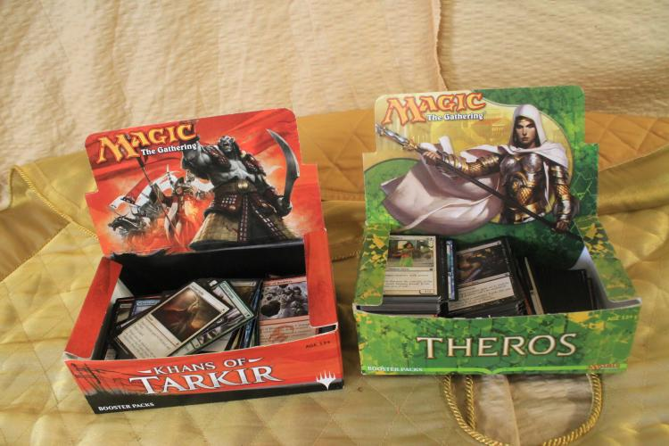Khans of Tarkir and Theros commons