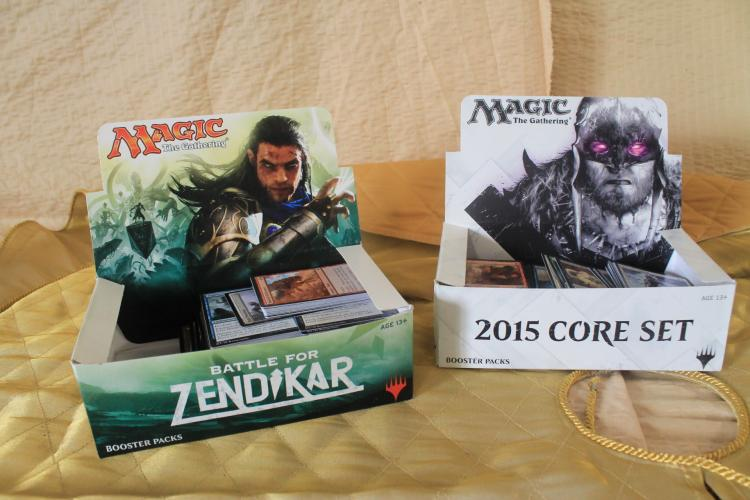 Battle for Zendikar and 2015 core set commons