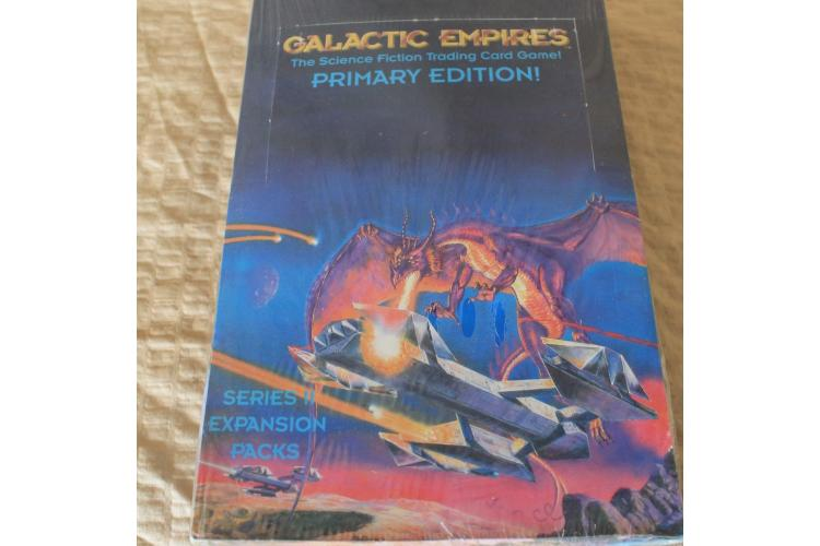 Galactic Empires trading card game booster box