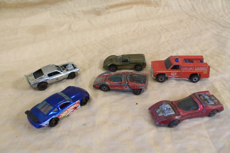 Lot of 6 Hot Wheels redlines