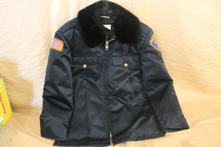 Tewksbury Police coat
