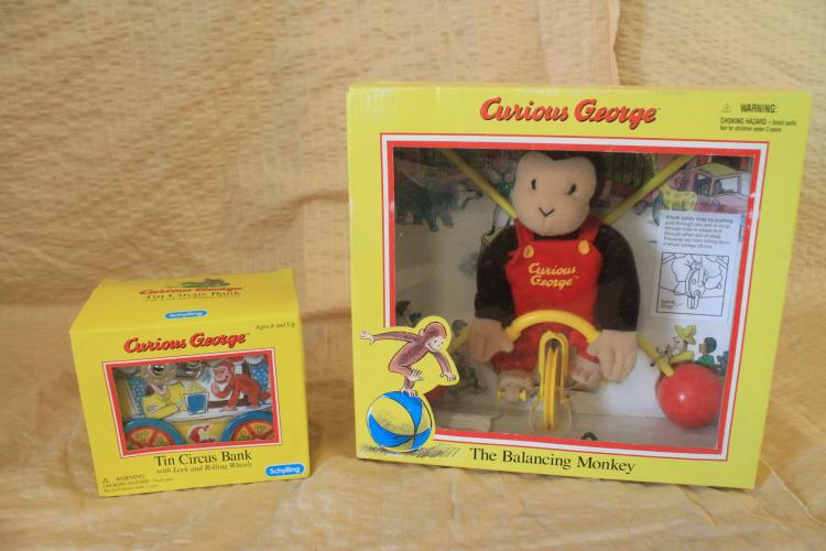 Curious George pieces