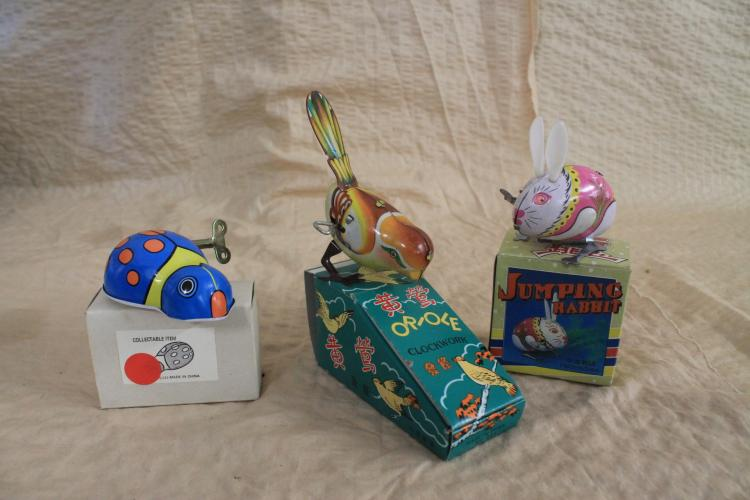 Tin Toy lot