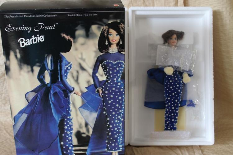 Evening Pearl Barbie doll