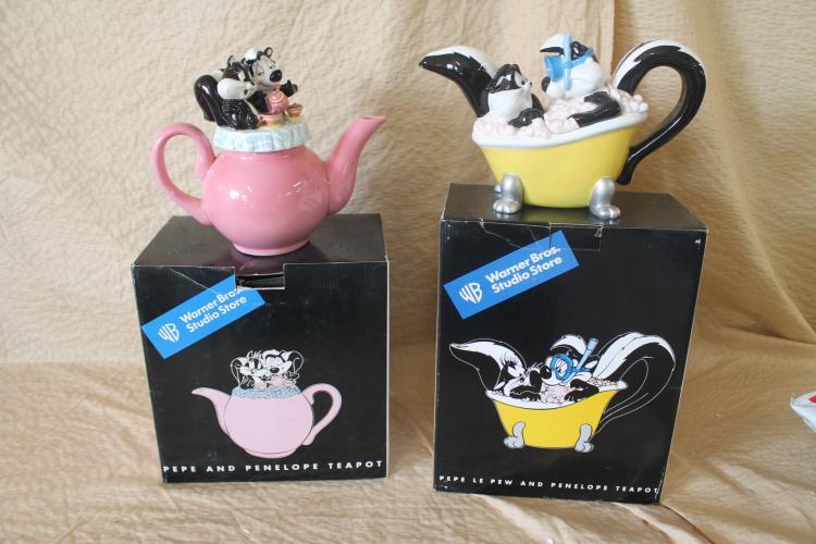 Pepe le Pew Teapots