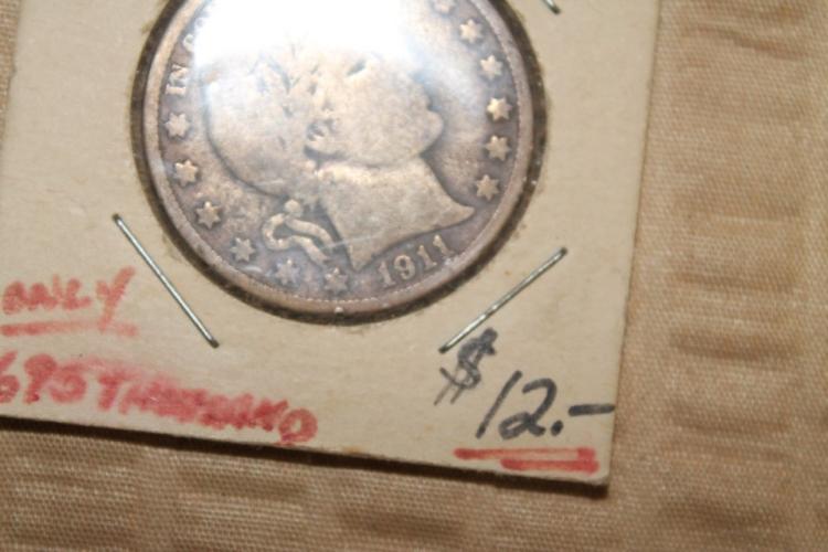 1911 half dollar