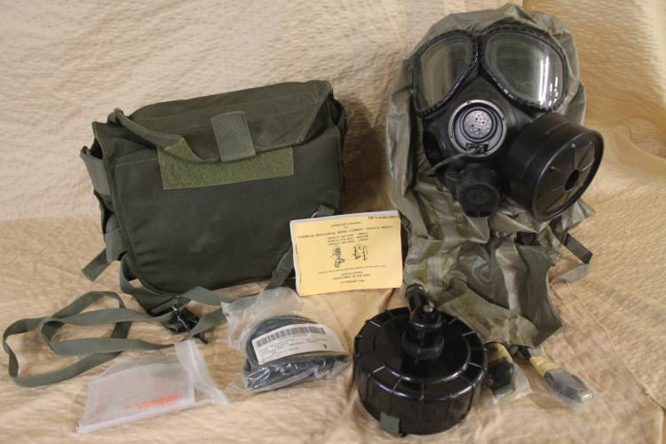Chemical-Biological Mask: Combat Vehicle, M2A4 1