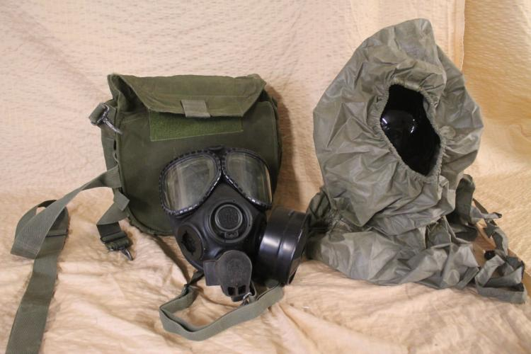 Chemical-Biological Mask: Combat Vehicle, M2A4 1