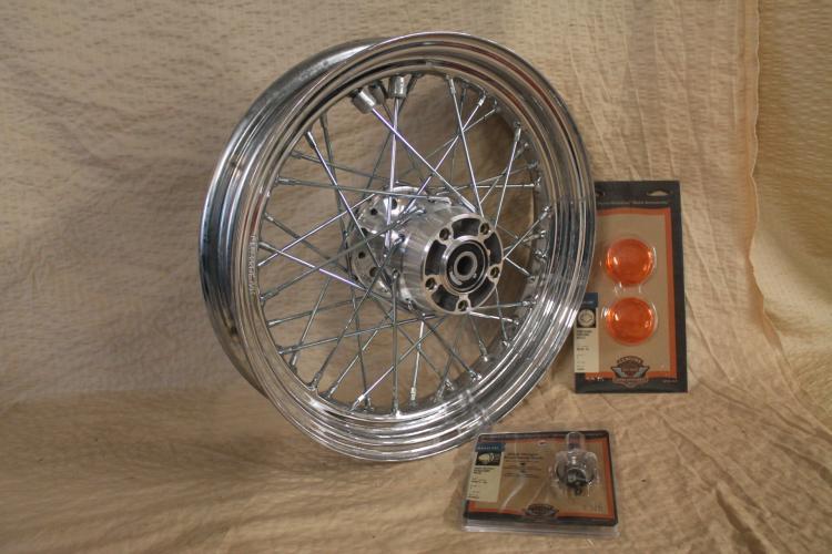 Harley Davidson accesory lot