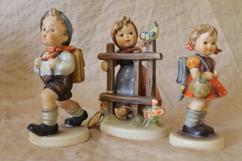 Lot of 3 Hummel Goebel figurines