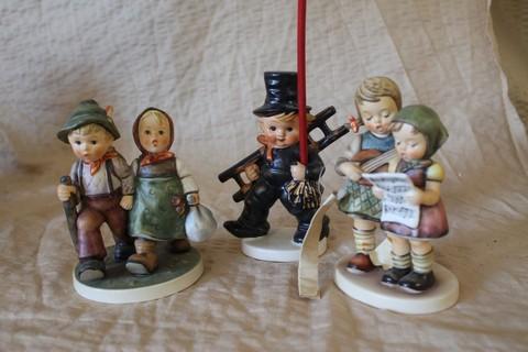 Lot of 3 Hummel Goebel figurines