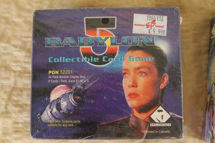 Babylon 5 card game collectibles