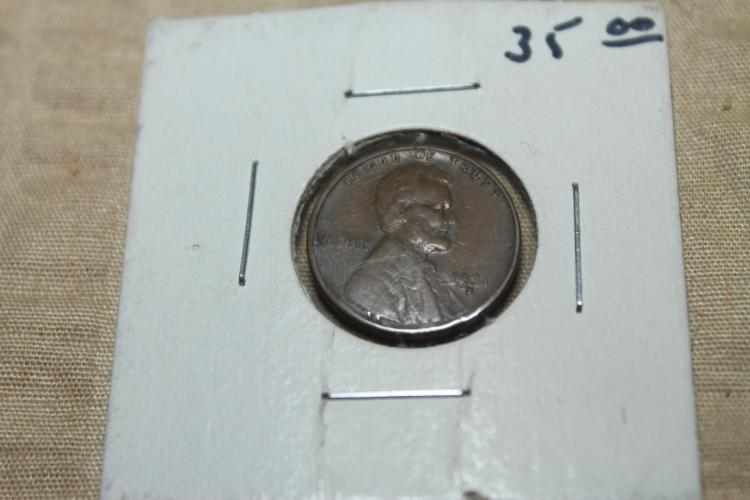1931 s Lincoln penny