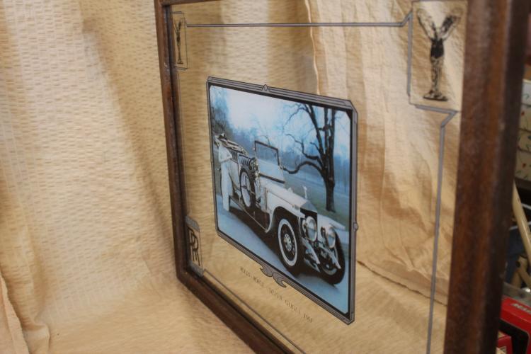 Rolls Royce Silver Ghost Mirror