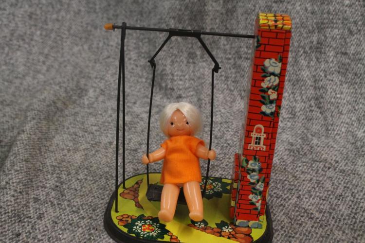 Russian swinging girl