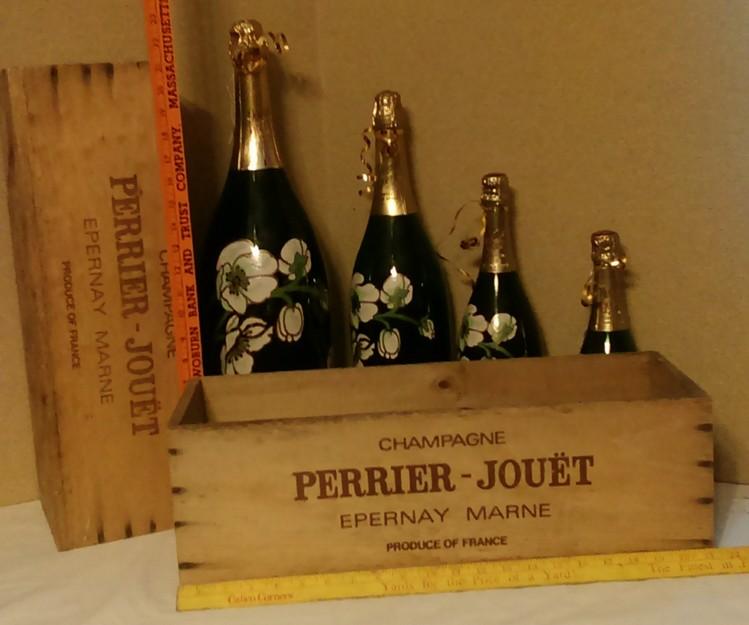 Perrier Jouet Champagne bottle models