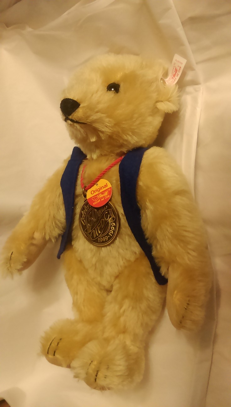 50th anniversary steiff bear