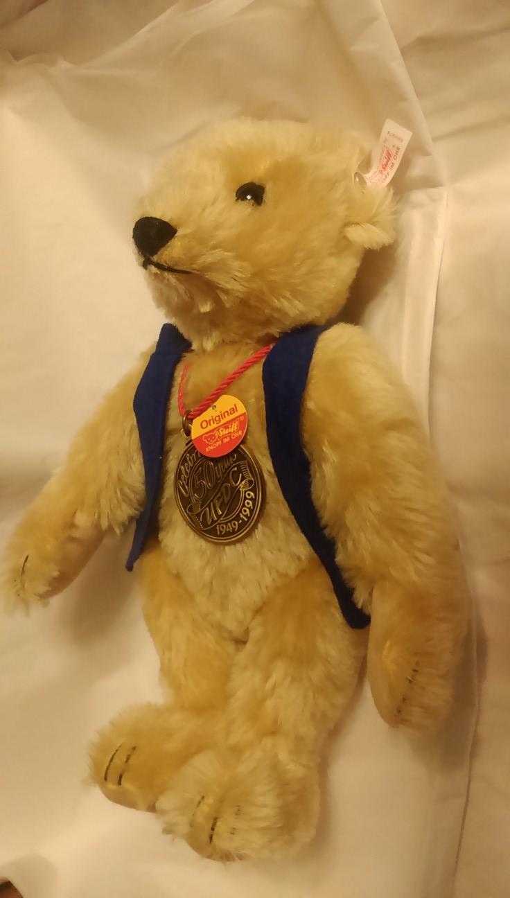 50th anniversary steiff bear