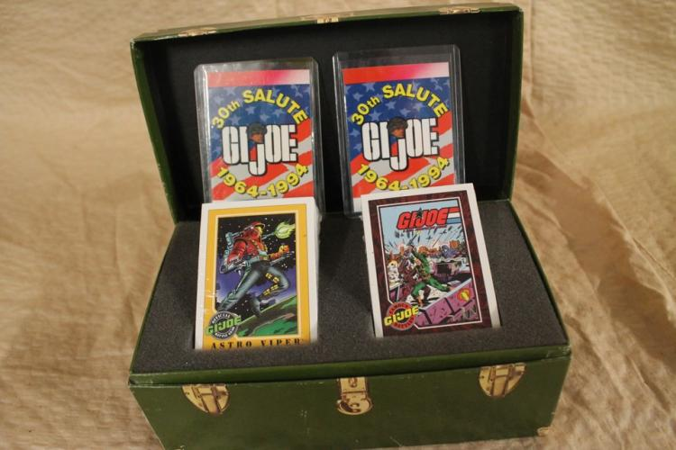 Lot of collectible GI Joe trading cards