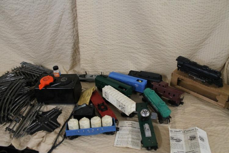 High end Lionel train lot